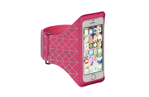 STM Sports Armband for iPhone 5 and Smartphones up to 4.3 Inches - Pink (stm-336-085D-21)